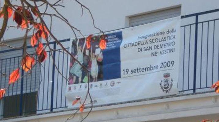 Scuola San Demetrio ne' Vestini (AQ)